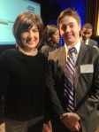 Christiane Amanpour and Turner G. Cowles